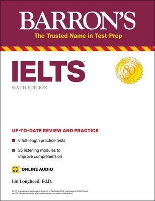 Ielts (with Online Audio) (Barron's Test Prep) Cover Image