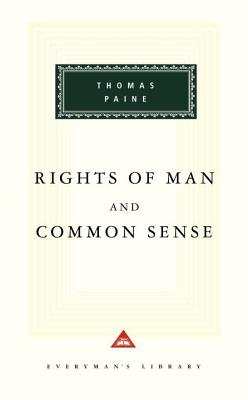 Rights of Man and Common Sense Cover