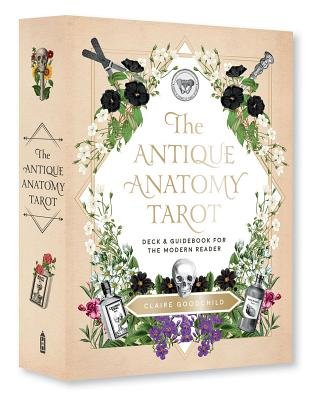 Antique Anatomy Tarot Kit: A Deck and Guidebook for the Modern Reader Cover Image