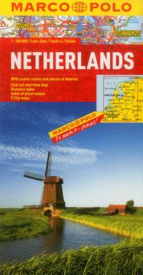 Netherlands Map (Marco Polo Maps) Cover Image