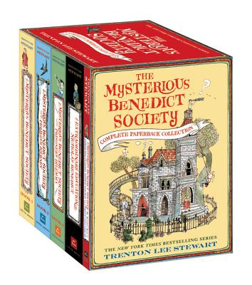 The Mysterious Benedict Society Complete Paperback Collection Cover Image