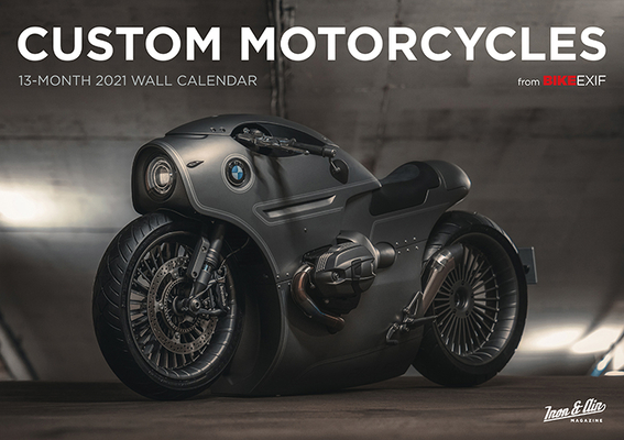 Bike Exif Custom Motorcycle Calendar 2021 Cover Image