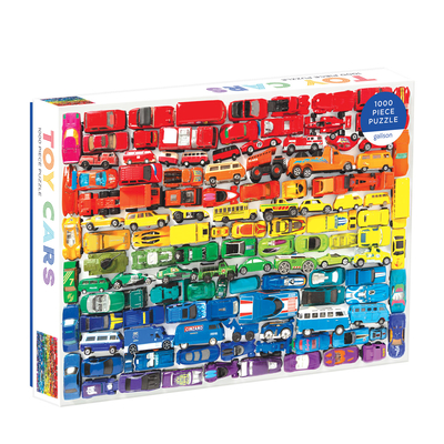 Rainbow Toy Cars 1000 PC Puzzle Cover Image