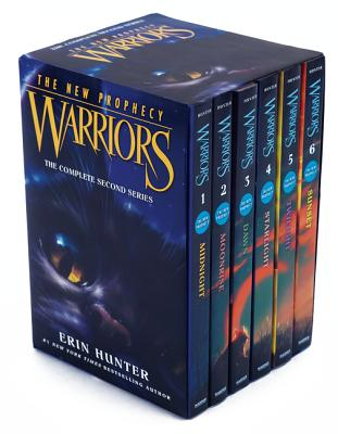 Warriors: The New Prophecy Box Set: Volumes 1 to 6: The Complete Second Series Cover Image