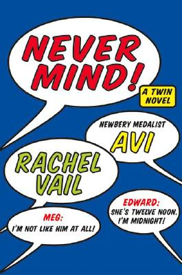 Never Mind!: A Twin Novel Cover Image