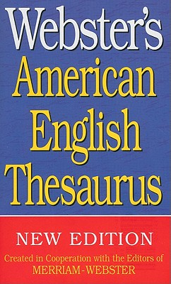 Webster's American English Thesaurus Cover Image