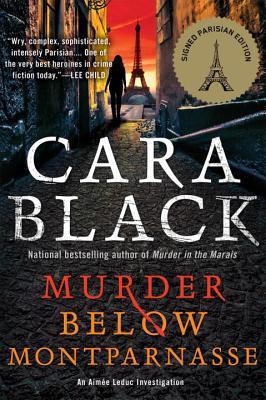Murder Below Montparnasse Cover