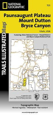 Mount Dutton, Aquarius Plateau (National Geographic Trails Illustrated Map #705) Cover Image