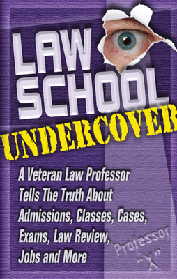 Cover for Law School Undercover