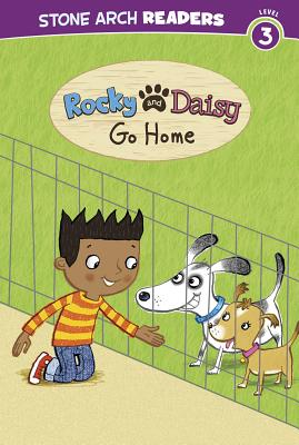 Rocky and Daisy Go Home (Stone Arch Readers: My Two Dogs) Cover Image