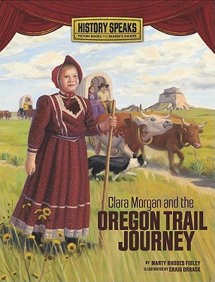 Clara Morgan and the Oregon Trail Journey Cover