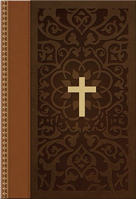 Large Print Ancient Faith Compact Bible-KJV Cover
