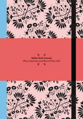 Bullet Grid Journal: Floral Cover Image