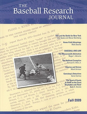 The Baseball Research Journal (BRJ), Volume 38 #2 Cover Image