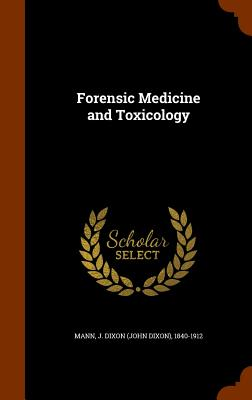 Forensic Medicine And Toxicology Brookline Booksmith