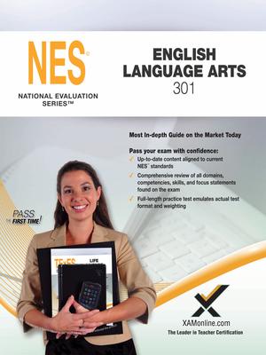 2017 NES English Language Arts (301) Cover