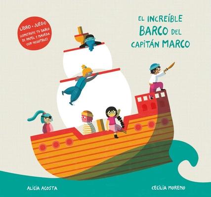 Cover for El Increíble Barco del Capitán Marco