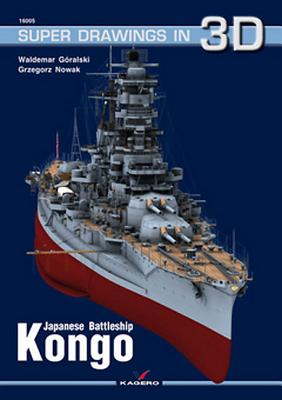 Japanese Battleship Kongo (Super Drawings in 3D #5) Cover Image