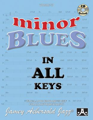 Jamey Aebersold Jazz -- Minor Blues in All Keys, Vol 57: Book & CD Cover Image