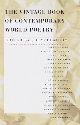 The Vintage Book of Contemporary World Poetry Cover Image