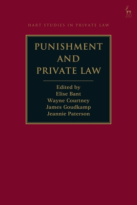 Punishment and Private Law (Hart Studies in Private Law) Cover Image