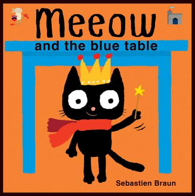 Meeow and the Blue Table Cover