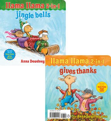 Llama Llama 2-in-1: Gives Thanks/Jingle Bells Cover Image
