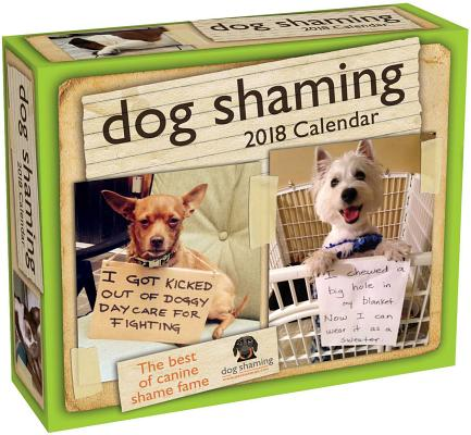 Dog Shaming 2018 Day-to-Day Calendar Cover Image