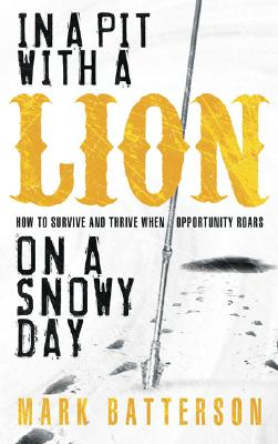 In a Pit with a Lion on a Snowy Day Cover