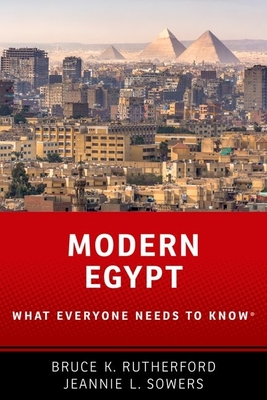 Modern Egypt: What Everyone Needs to Know(r) Cover Image