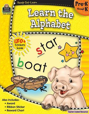 Ready-Set-Learn: Learn the Alphabet Prek-K Cover Image