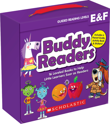 Buddy Readers: Levels E & F (Parent Pack): 16 Leveled Books to Help Little Learners Soar as Readers Cover Image
