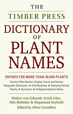The Timber Press Dictionary of Plant Names Cover Image