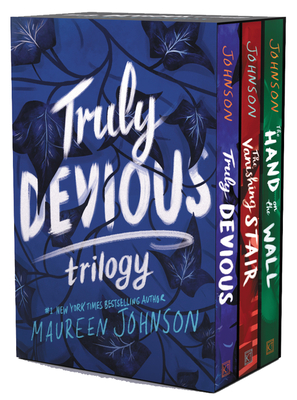 Truly Devious 3-Book Box Set: Truly Devious, Vanishing Stair, and Hand on the Wall Cover Image