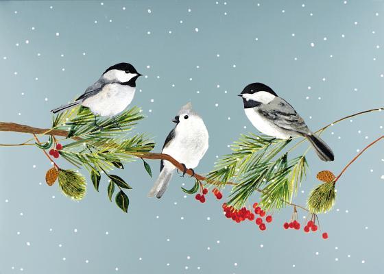 DLX Bx: Birds & Boughs Cover Image