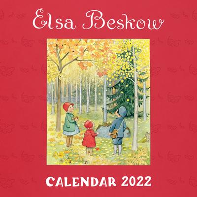Cover for Elsa Beskow Calendar 2022