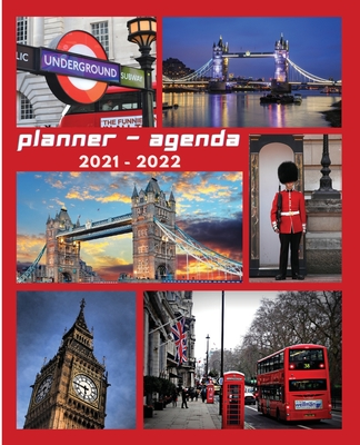 Agenda Planner 2021 - 2022: Agenda Planner 2021 - 2022. In this set of Agenda-Calendar 2021-22 you will find everything you need. Cover Image