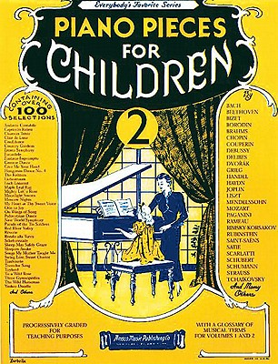 Piano Pieces for Children - Volume 2 Cover Image