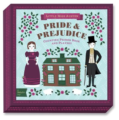 Pride & Prejudice: A Babylit(r) Counting Primer Board Book and Playset (BabyLit Playset) Cover Image