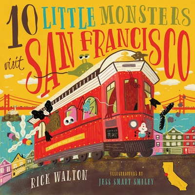 Cover for 10 Little Monsters Visit San Francisco, Second Edition
