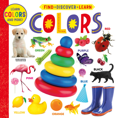 Colors (Find, Discover, Learn) Cover Image