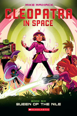 Queen of the Nile (Cleopatra in Space #6) Cover Image