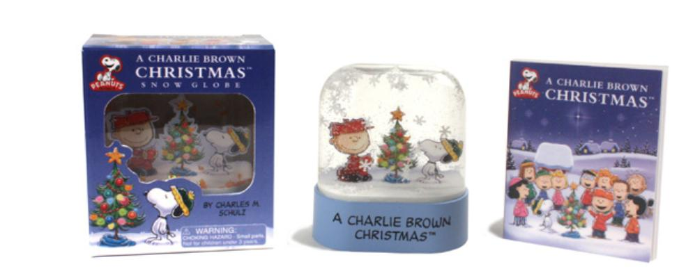 A Charlie Brown Christmas Snow Globe (RP Minis) Cover Image
