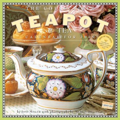 The Collectible Teapot & Tea Wall Calendar 2019 Cover Image