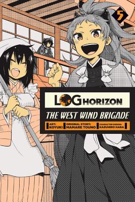 Log Horizon Cover