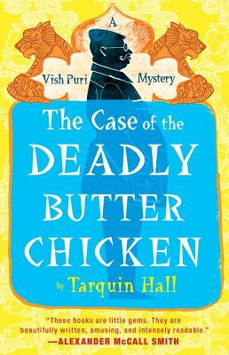 The Case of the Deadly Butter Chicken Cover