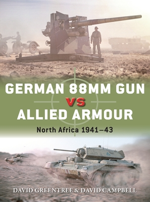 German 88mm Gun vs Allied Armour: North Africa 1941–43 (Duel) Cover Image