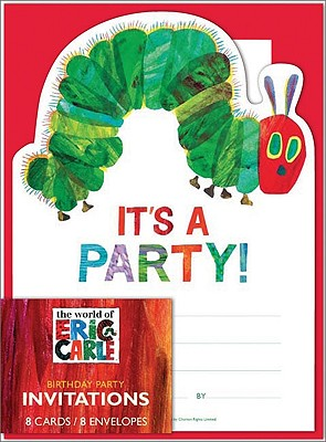 The World of Eric Carle(TM) Birthday Invites Cover Image