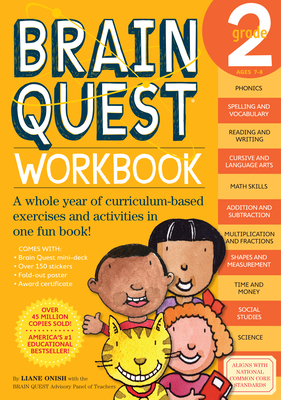 Brain Quest Workbook: Grade 2 (Brain Quest Workbooks) Cover Image