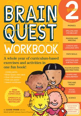 Brain Quest Workbook: 2nd Grade (Brain Quest Workbooks) Cover Image